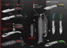 This is an idea for an outdoor knife set. Inspirations from many known brands. Always been a knife lover, finally get to conceptualise my own. This sketch layout was done for 3d reference which i will...