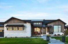House plans modern craftsman stones 18 ideas for 2019 Craftsman Bungalow House Plans, Craftsman Ranch, Craftsman Cottage, Modern Craftsman, Craftsman Bungalows, Craftsman Style, Cottage House, Modern Exterior, Minimalism