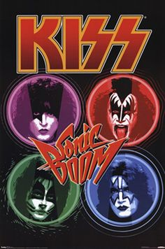Kiss Sonic Boom Official Poster ~ Available at www.sportsposterwarehouse.com