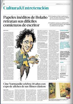 Roberto Bolaño | Victor-Abarca-Ilustraciones