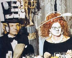 Extraordinarily Odd Photographs From A Rothschild Party In 1972