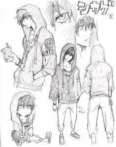 ideas drawing poses male anime character design references for 2019 Drawing Poses Male, Guy Drawing, Manga Drawing, Character Drawing, Manga Art, Drawing Tips, Character Sketches, Drawing Male Hair, Drawing Tutorials