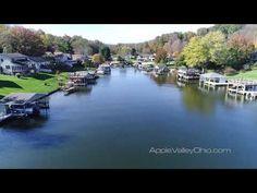 Howard Ohio, Knox County Ohio, Mount Vernon Ohio, Sam Miller, Apple Valley, Waterfront Property, Video Capture, View Video, Birds Eye View
