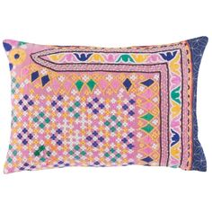 John Robshaw Textiles - Vintage Gujar 703 - Souk Bolsters - souk
