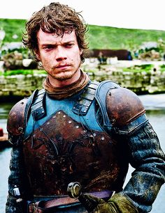 Alfie Allen as Theon Greyjoy, reluctant ward of the Starks, in HBOs Game of Thrones.