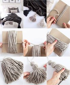 Creating awesome homemade cozy diy does not require serious artistic talent. - Creating awesome homemade cozy diy does not require serious artistic talent. Get… Creating awesome homemade cozy diy does not require serious artistic talent. Rope Crafts, Yarn Crafts, Diy And Crafts, Arts And Crafts, Cute Diy Crafts For Your Room, Art Diy, Pinterest Diy, Diy Wall Decor, Easy Diy Room Decor