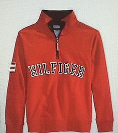 BOYS 2 2T TOMMY HILFIGER QUARTER ZIP FLEECE JACKET NWT