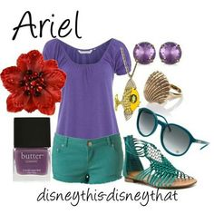 3:  Ariel inspired outfit  #momselect #NewFantasyland