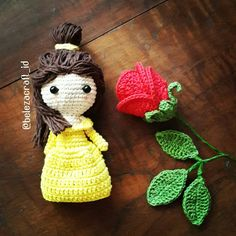 """37 Likes, 3 Comments - Amigurumi & Crochet Design (@belezacraft_id) on Instagram: """"You don't lose hope, love. If you do, you lose everything ~Mrs. Potts (Beauty and the Beast)~…"""""""
