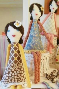 Jemima rag dolls by Abbey Shabby