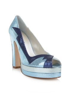 07987d9e072045 TERRY DE HAVILLAND LUNA METALLIC SHOES