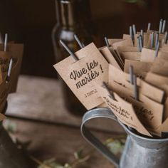 As we get ready to return to work, we have Marie & William's really sweet wedding to share with you! Wedding Send Off, Wedding Favors, Diy Wedding, Wedding Decorations, Wedding Day, Marie Claire, Unity Ceremony, Wedding Guest Book, Marry Me