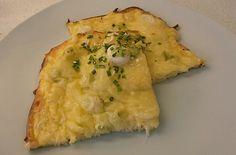 Flammkuchen #käse&frühlingszwiebel #homemade #lowcarb