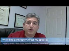 Will Filing Bankruptcy Affect My Spouse