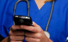 This photo depicts a nurse using a smartphone. Smartphones are great technological tools nurses can use to learn, grow and keep up to date with the latest happening in the medical/health field. Smartphones also have applications such as drug guides, clinical skills applications etc. that can help educate nurses on a variety of topics. Smartphones and technology are effective tools to add and utilize in an innovative learning environment and can be utilized to promote online learning…