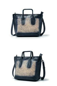 Handmade Full Grain Leather Handbag Messenger Shoulder Bag