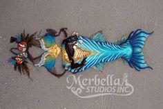 Full Silicone Mermaid Tail by Mermaid Raven of Merbella Studios Inc.