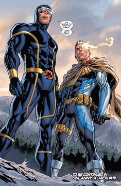 Uncanny X-Men Annual closing page Cyclops and Young Cable Marvel E Dc, Marvel Comic Universe, Marvel Comics Art, Comics Universe, Marvel Heroes, Marvel Characters, Cyclops X Men, Univers Marvel, Comic Book Artists