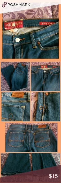 Selling this Lucky brand jeans size 12 on Poshmark! My username is: lavatica. #shopmycloset #poshmark #fashion #shopping #style #forsale #Lucky Brand #Denim