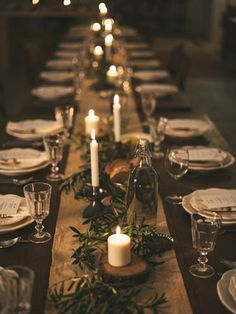 Here are the Rustic Christmas Table Settings Ideas. This article about Rustic Christmas Table Settings Ideas was posted under the … Christmas Table Centerpieces, Christmas Table Settings, Christmas Party Decorations, Wedding Table Centerpieces, Wedding Table Settings, Holiday Tablescape, Christmas Party Table, Wedding Decorations, Thanksgiving Table