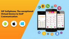SIP Softphone, The exceptional Virtual Device to VoIP Communication  Presently, everyone is very well aware about the VoIP. The developing telecom business has thought of numerous propelled innovations which expanded the quality and effectiveness as well as lessened the calling costs. VoIP innovation is the one among them which turned out to be amazingly prominent in limited capacity to focus time.