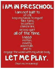 We LOVE this: Spotted by Board of Early Care and Learning Secretary Susan Harper. #children #preschool