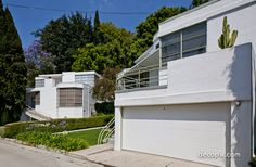 #ArtDeco | Vanderpool and Skinner Houses, Los Angeles, California