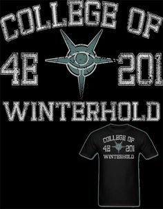 "NEW Skyrim College of Winterhold T Shirt! ""You... 