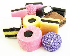 Bassett's Licorice Allsorts-any allsorts-yum British Candy, British Sweets, Liquorice Sweets, Liquorice Allsorts, Candy Recipes, Gourmet Recipes, Penny Candy, Black Licorice, Candy Cookies