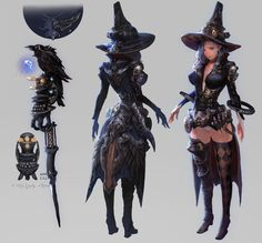 ArtStation - royalblood -mage tier4 armor, Keunju Kim