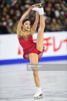 Marin Honda of Japan competes in the ladies free skating during day three of the 86th All Japan Figure Skating Championships at the Musashino Forest Sports Plaza on December 23, 2017 in Chofu, Tokyo, Japan.
