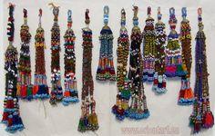 Antique Oriental nomadic tribal belly dance tassel tassels Tassel afghanistan CARNATION   eBay