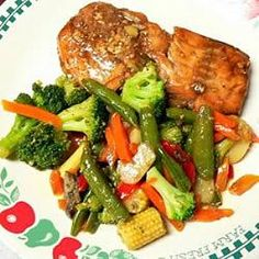 Maple Salmon - This is the best and most delicious salmon recipe, and very easy to prepare.