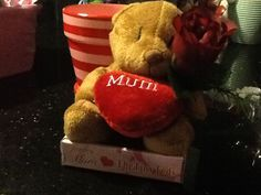 Mother's Day teddy n rose gift. Mother's Day Gift Sets, Rose Gift, Mother Day Gifts, Food, Meals, Yemek, Eten