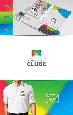 Criação de Identidade Visual completa para Master Clube.  Logotipo, papelaria e folders.  Contagem – MG  www.masterclube.org