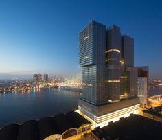 """De Rotterdam, la nuova """"vertical city"""" progettata dallo studio OMA #architecture"""