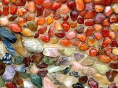 Niki de St Phalle Mosaic sculpture, Queen Califia's Magical Circle
