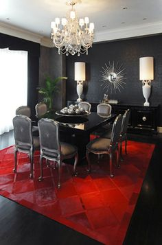 5 Chandeliers For 5 Different Styles  Modern Dining Room Prepossessing Dark Grey Dining Room Design Inspiration