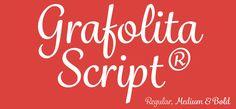 Grafolita Script font by Rui Abreu is a warm and casual typeface
