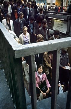 Photographer Bob Mazzer has been documenting the London Underground for 40 years.