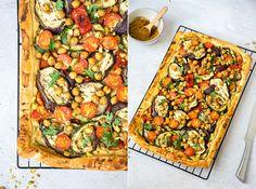 Hummus plate cake with grilled vegetables - Blackbird sandcake - Dutch vegan blo. Tempeh, Tofu, Veggie Recipes, Vegetarian Recipes, Cooking Recipes, Healthy Recipes, Veggie Food, Healthy Foods, Dinner Recipes