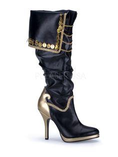 Ladies Pirate Boots