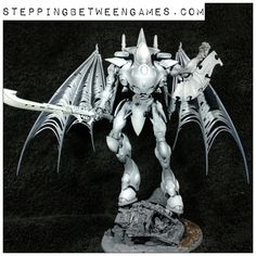 Eldar Wraithknight With Wings - Work in progress - Stepping Between Games Wings, Army, Colours, Games, Pictures, Painting, Inspiration, Gi Joe, Photos