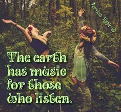 ☮ American Hippie ☮ The earth has music
