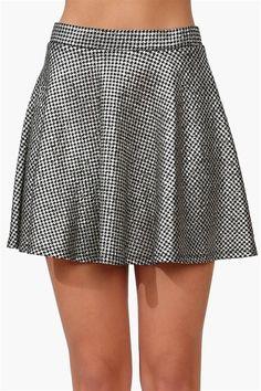 Shimmer Skater Skirt