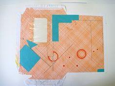 Nicola Wood: envelope drawings: