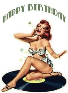 retro pinup birthday - Google Search