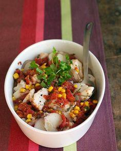 Mexican Cod and Potato Stew Recipe