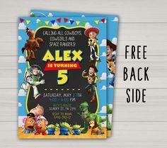 Invitación de Toy Story Toy Story cumpleaños invitación