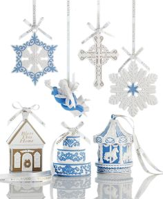 142 best Wedgwood Ornaments images on Pinterest | Xmas, Christmas ...
